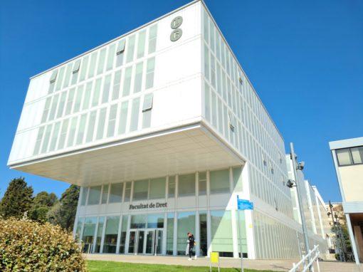 Edificio Facultat de Derecho Barcelona