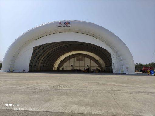 Hangar Portátil Hyderabad (La India)